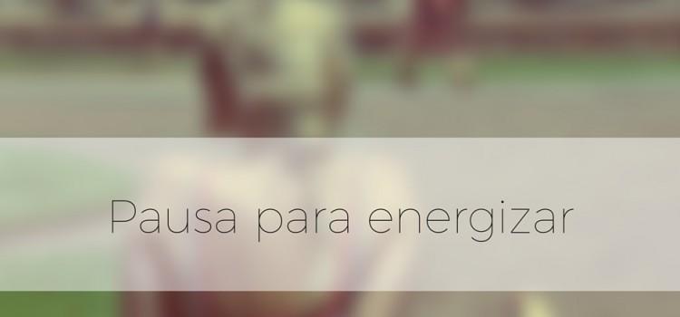Pausa para energizar