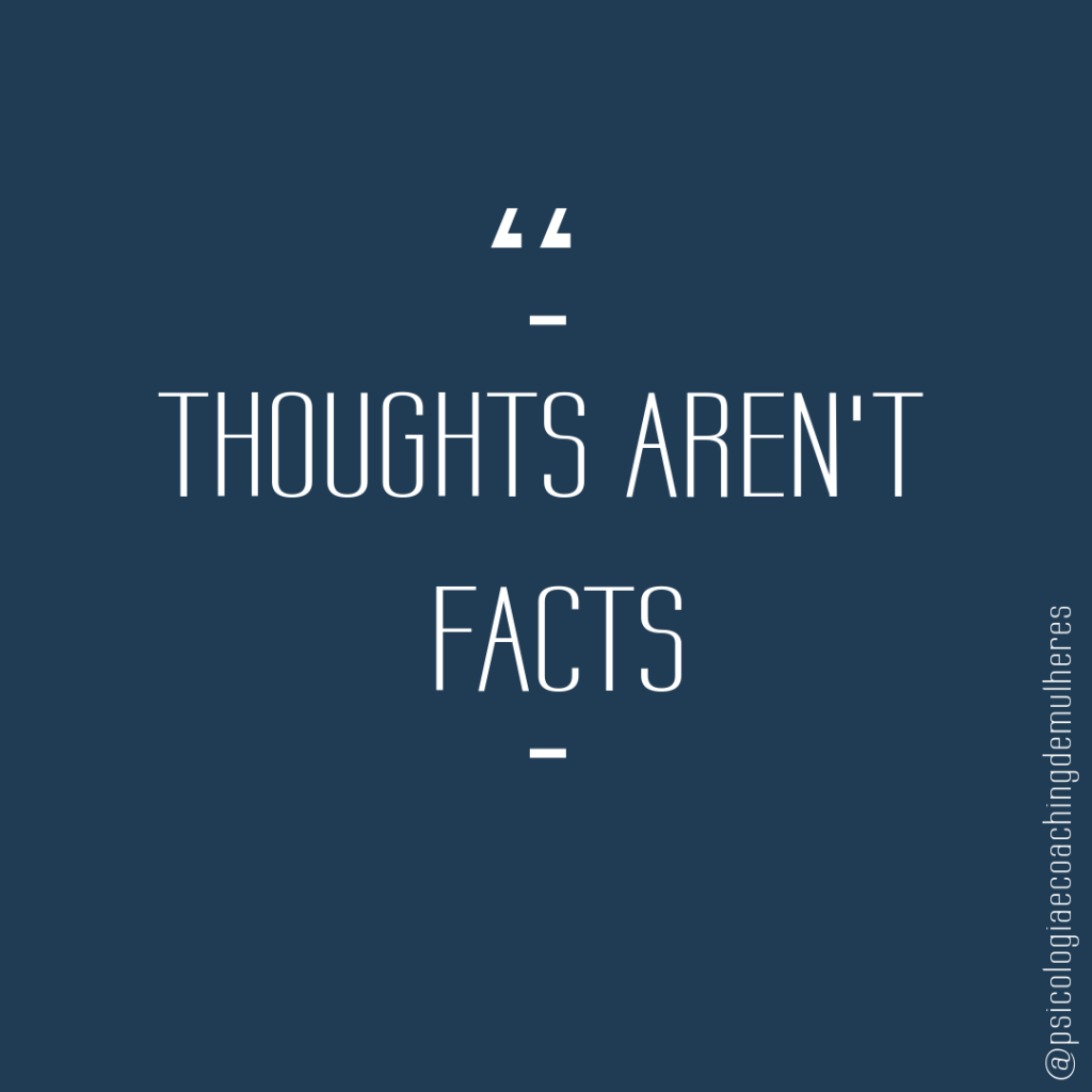 Thoughts aren't facts